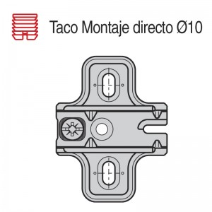 CALZO AVION MONTAJE DIRECTO 10 C95 1.5mm B1051MG15E2