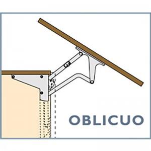 MECANISMO ELEVABLE OBLICUO VELA 72 450N PUERTA MADERA Y PUERTA ALUMINIO, H MIN 390mm,