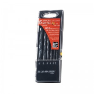 ESTUCHE PLAST.BROCAS RECTIF.HSS 6p 2-8mm