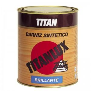 BARNIZ SINTETICO BRILLO TITANLUX 500ml INTERIOR/EXTERIOR INCOLORO