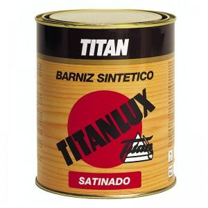 BARNIZ SINTETICO SATINADO TITANLUX 1L INTERIOR/EXTERIOR INCOLORO