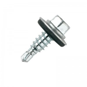TORNILLO BROCA 7504-K RE 5,5-22 P-16 ZINCADO BROCA REDUCIDA