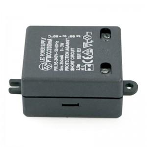 TRANSFORMADOR PARA LEDS PTDCC/3/350/N 3W CONVERTIDOR LED INTENSIDAD CONSTANTE.