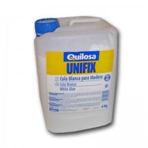 COLA BLANCA UNIFIX M-54 12kg. 6072 PARA TRABAJOS CON MADERA, PAPEL Y CARTON. ENCOLADOS Y DECORACION.