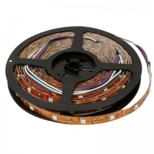 TIRA 30 LEDS POR METRO 7,2W/mt 10 metros A10 RGB