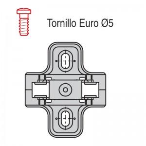 CALZO AVION C90 CLIP 4.5mm. B1002MG45B1 TORNILLO EURO PREMONTADO, REVERSIBLE