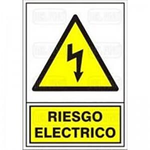 "SEÑAL 312 PLAST.345x245""RIESGO ELECTRIC"""