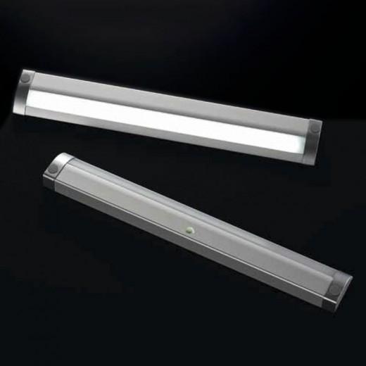 LAMPARA LED NICE CON SENSOR PIR 7,9W 860mm TRANSFORMADOR NO INCLUIDO. 12V DC, 6500ºK.