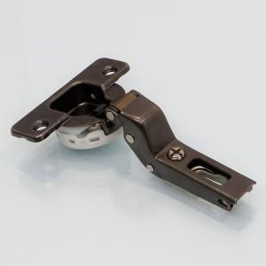 BISAGRA SILENTIA 110º SUPERACODADO C7A6PD6 TITANIO PROFUNDIDAD CAZOLETA 13,5mm