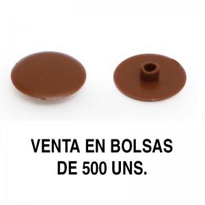 TAPA EXCÉNTRICA GOZO AG.4 d17 MARRON (500U)