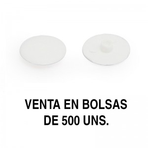 TAPA EXCÉNTRICA GOZO AG.4 d17 BLANCO (500U)