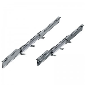 GUIA MESA EXTENSIBLE KOMBI 77 H93 1200 BIDI SIN FRENO 4 TABLEROS X 500mm. CARGA 115 KGS.