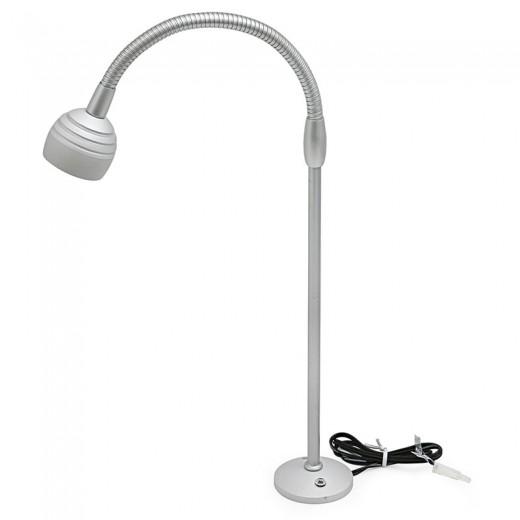 LAMP.RT/FLEX 1LED ALTA POTENCIA 1W LUZ BLANCO C/BA AMP, 3.6V/350mA, CABLE 60cms, S/TRANSF.