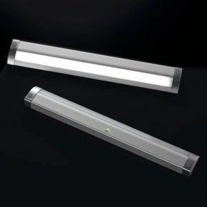 LAMPARA LED NICE CON SENSOR PIR 2,4W 280mm TRANSFORMADOR NO INCLUIDO. 12V DC, 6500ºK.