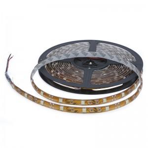 ROLLO IMPERMEABLE 60LED/14,4W/mt 5MT A12 LUZ BLANCA I-LED 5050SMD, 0,24W/LED, ROLLO 5MTOS, ADHESIVO.