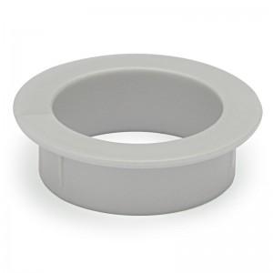 ARO PASACABLE SIN TAPA PARA EMBUTIR 48mm PLASTICO GRIS CASQUILLO RESPIRADOR COLCHON