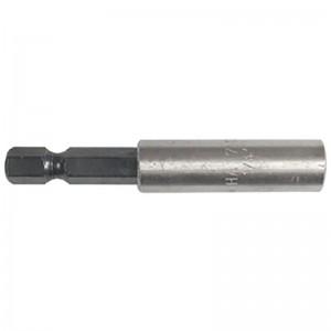 """PORTAPUNTAS MAGNETICO PARA PUNTAS 1/4 60mm INSERCION HEXAGONAL 1/4"""""""