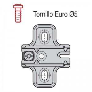 CALZO AVION CON TORNILLO EURO C95 4.5mm B1043MG45D8 TORNILLO EURO PREMONTADO