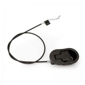 CABLE ACTIVADOR CON CAZOLETA NEGRO PARA RELAX LONGITUDINAL CABLE 870MM. LARGO TOTAL 960MM.-