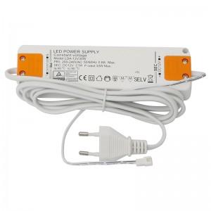 TRANSFORMADOR 30W LEDS 12V DC 183x46x18 IP20. CLASS 2.