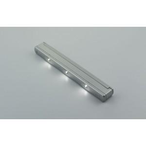 LAMPARA 3LED VIBRACION 0,18W BATERIA 170X22XH15MM. 12-15Seg. NO INCLUYE PILAS.