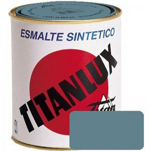 ESMALTE GRIS AZULADO TITANLUX 750ml. 510