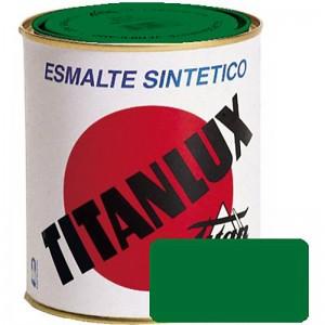 ESMALTE VERDE HIERBA TITANLUX 750ml. 514