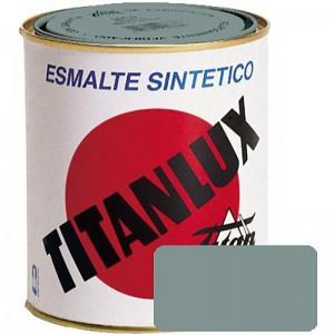 ESMALTE GRIS ACERO TITANLUX 750ml 503