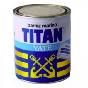 BARNIZ MARINO YATE TITANLUX 750ml 045 AMBIENTES HUMEDOS INCOLORO