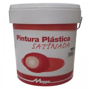 PINTURA PLASTICA SATINADA SEDA BLANCO 15L