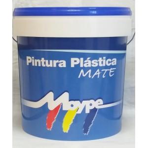 PINTURA PLASTICA MATE INT/EXT BLANCA 4L