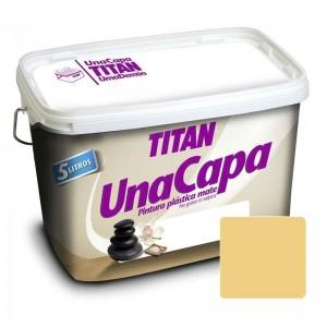 TITAN UNA CAPA OCRE 4L