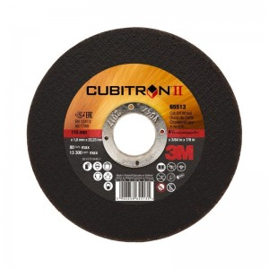 DISCO CORTE INOXIDABLE 3M CUBITRON II 115x1x22
