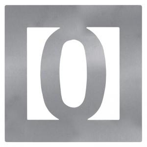 """NUMERO 0"""" INOXIDABLE 60X60"""""""