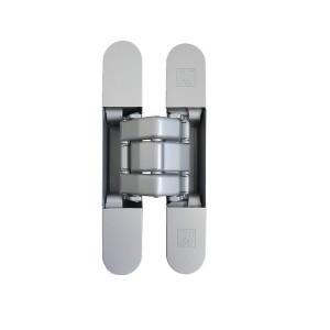 BISAGRA INVISIBLE KARAKTER K8080 CROMO SATINADO SP.min-40mm. 80Kg/2B. 100Kg./3B.