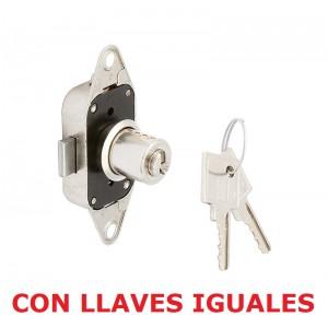 CERRADURA FALLEBA 2185 CILINDRO 16x20 M6. CON LLAVES IGUALES