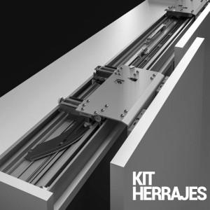 SLIDER M50 FLEX KIT DE HERRAJES